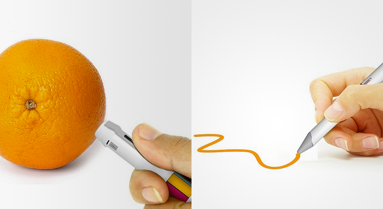 16 Million Color Pen Can Match Its Ink To The Shade Of Any