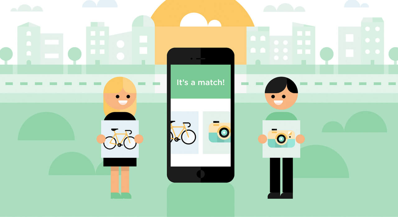 Tinder-style app is a local swap shop for unwanted goods