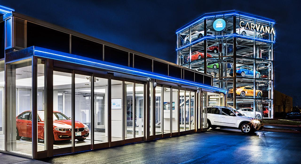 Nashville Car Dealership Opens Huge Vehicle Vending Machine Springwise