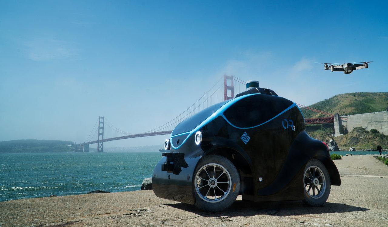 Autonomous robot and drone act as mobile surveillance unit