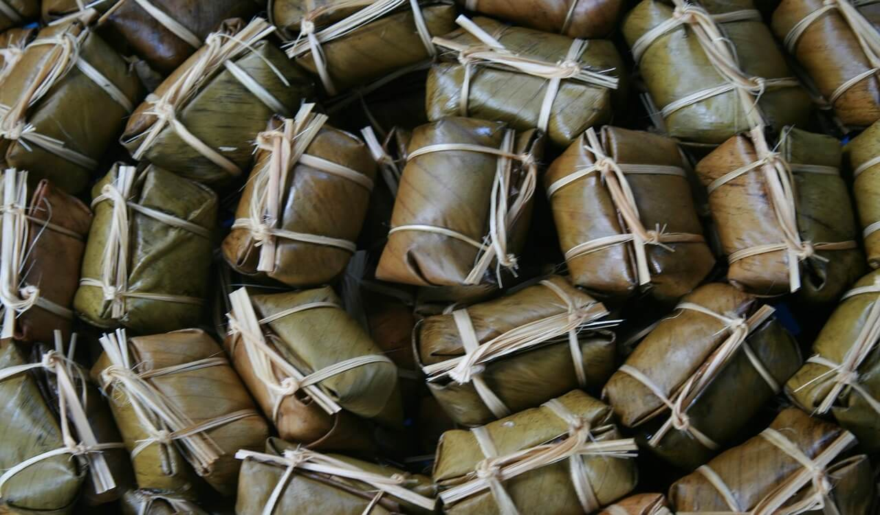 Thai Supermarket Wraps Food In Banana Leaves Instead Of Plastic Springwise