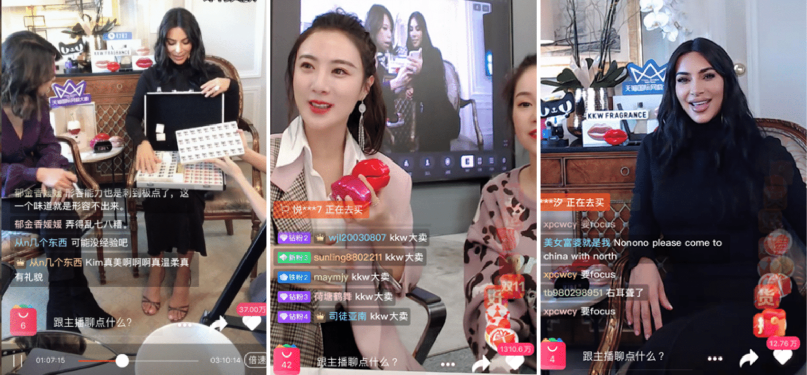 kim kardashian live shopping live stream idea