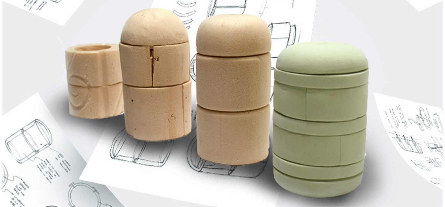 Sustainable beehive made from mushroom-based material