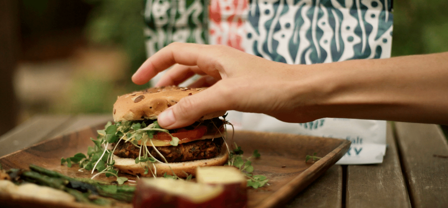 A kelp-based burger may be the most sustainable option yet