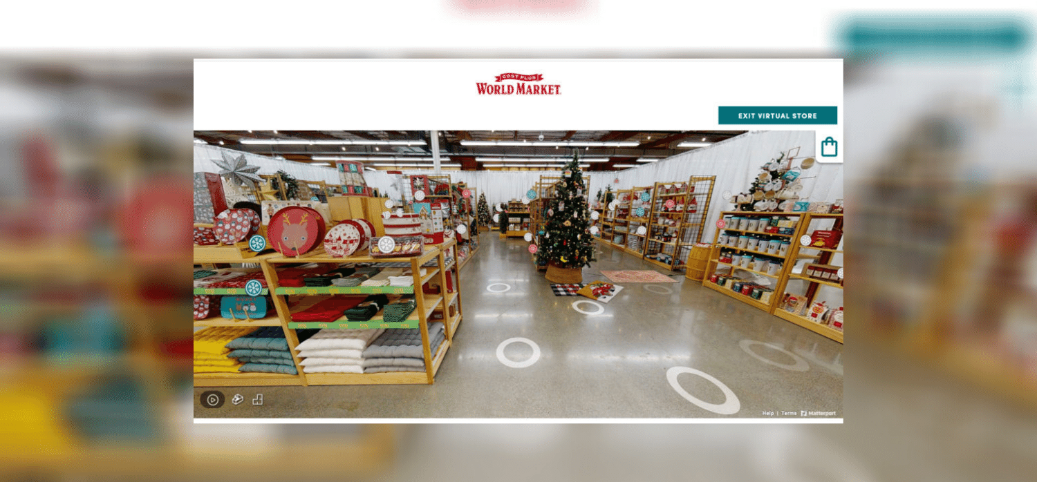 Virtual holiday store recreates in-store experience