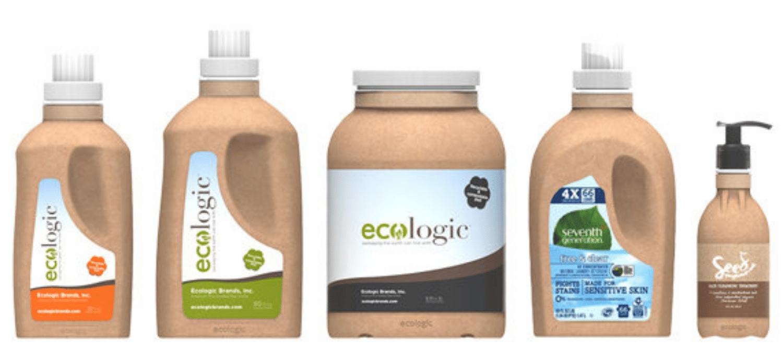 Startup develops paper-plastic combo bottles