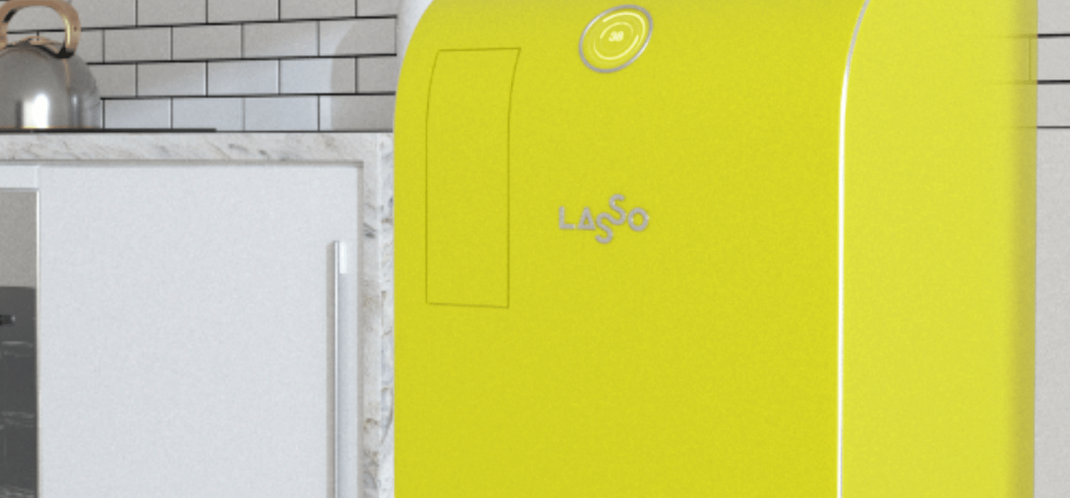 A waste bin that demystifies the recycling process