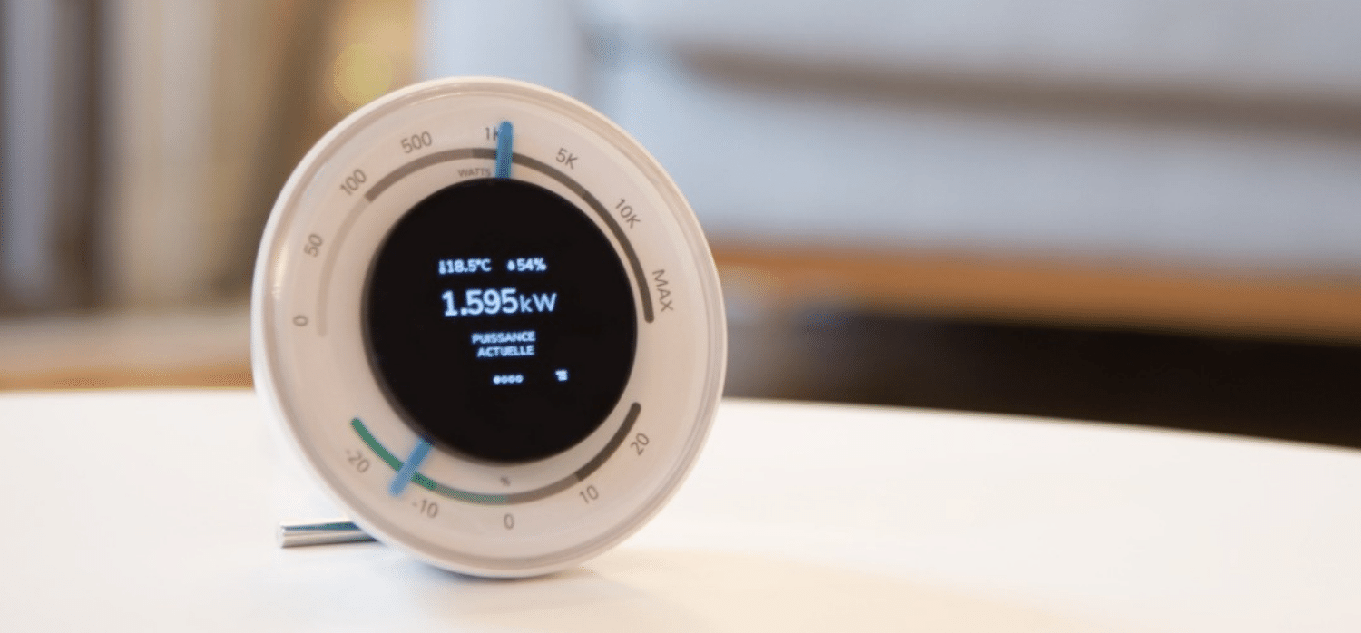 Intelligent power consumption meter for the home